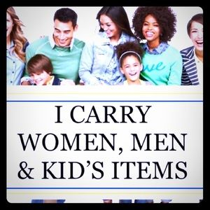 THEY'RE HERRRRRE!!!!! MEN WOMEN & KIDS ITEMS